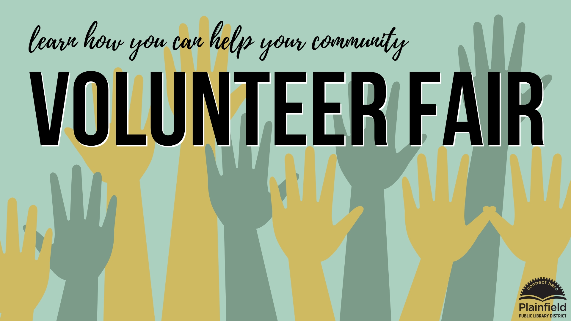 Volunteer Fair graphic