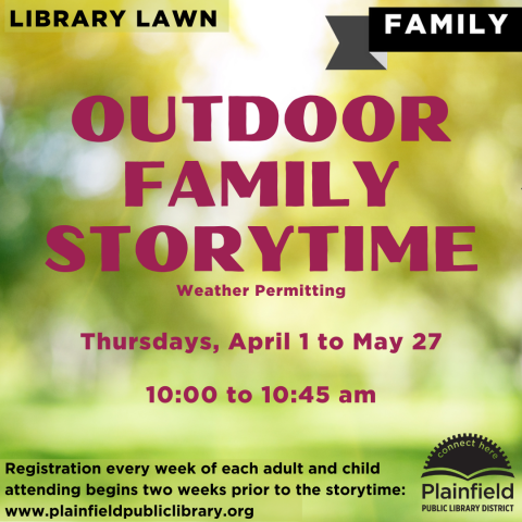 Outdoor Family Storytime